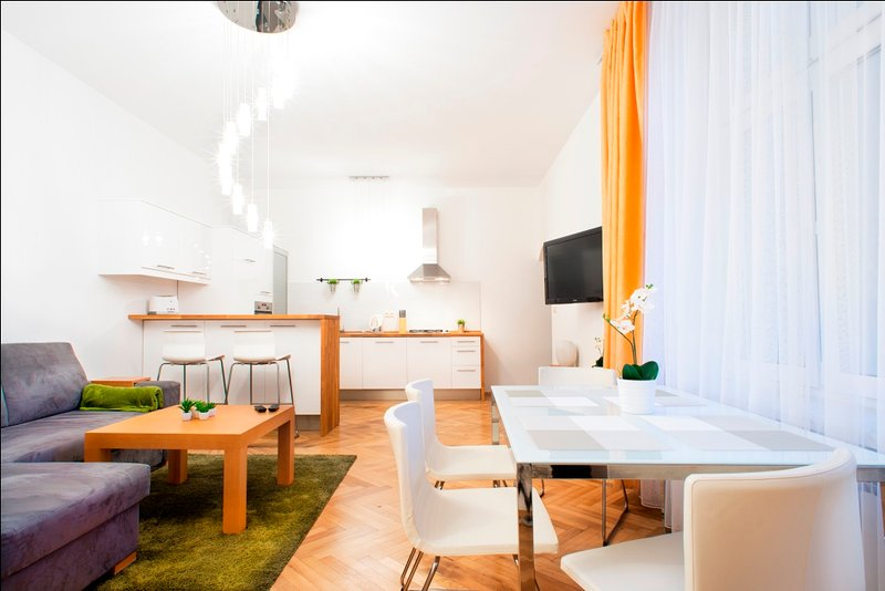 Stylish City Centre Apartment 2 (parking incl.), holiday rental in Chrosna