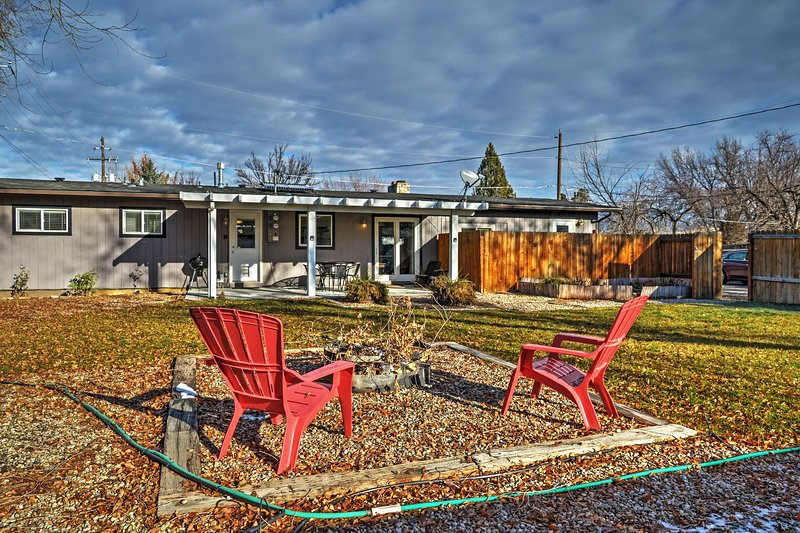 It doesn't get much better than this Boise vacation rental home!