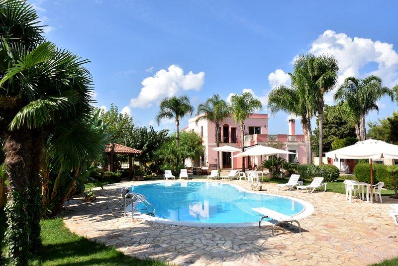 Villa Anastasia club gardens and pools