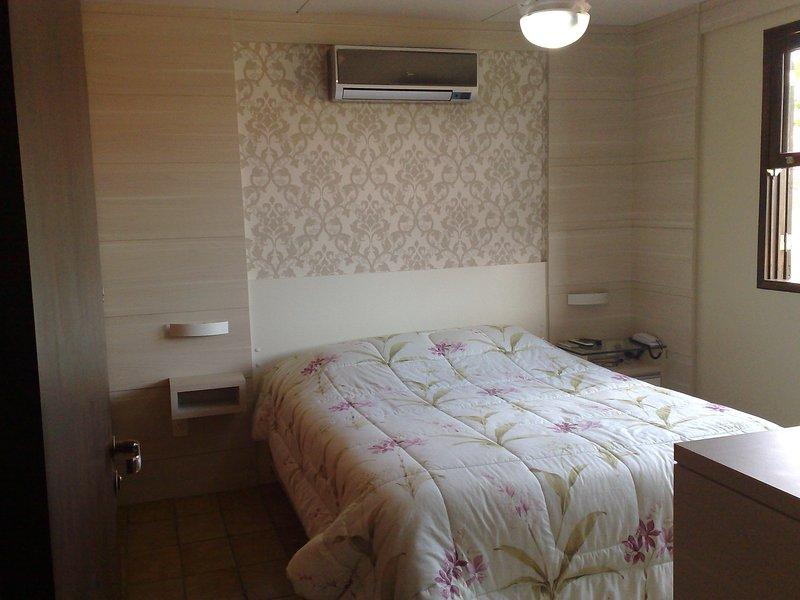 """Double Room with split, TV 51 """", Ceiling Fan"""