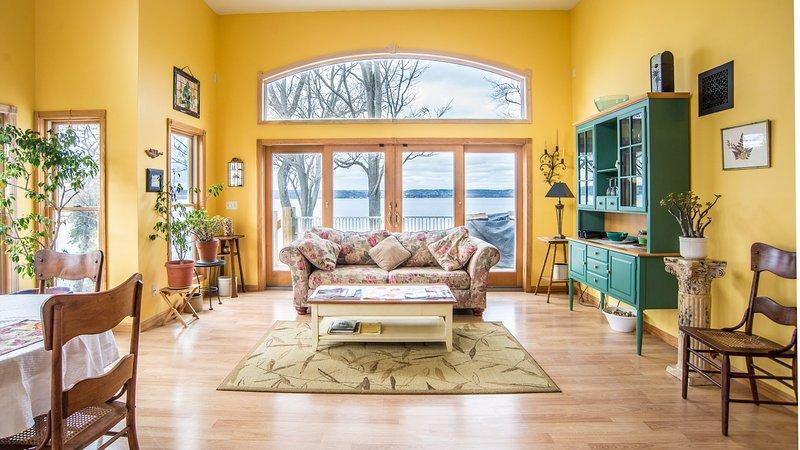 Great Room - Seneca uitzicht op het meer