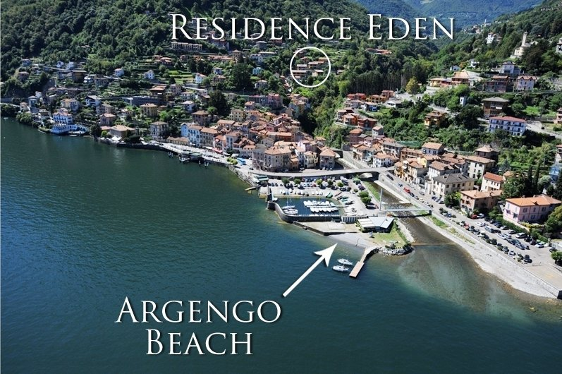 Residence Eden Magnolia 15, holiday rental in Argegno