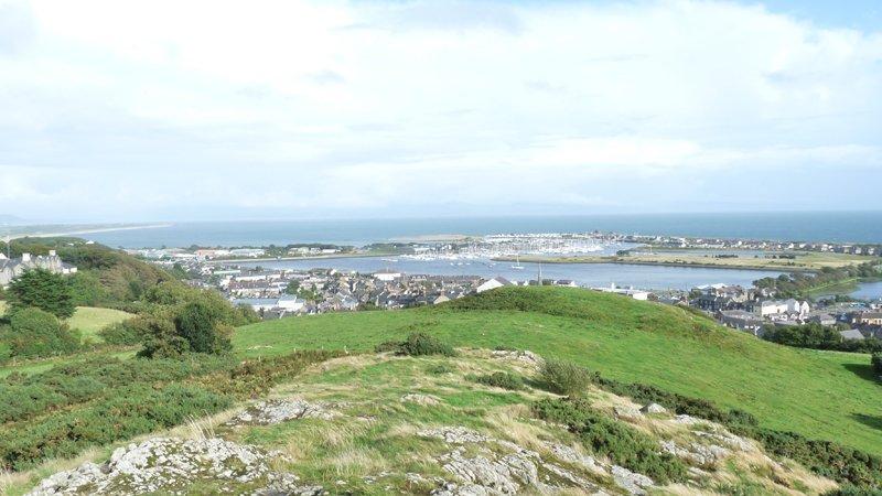 View from Pwllheli Trig Point
