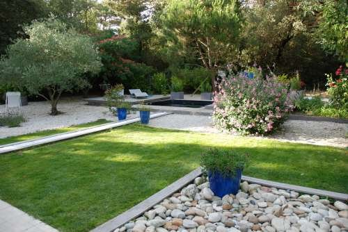 Ile de Re house with pool in the garden of 1200m2 very quiet
