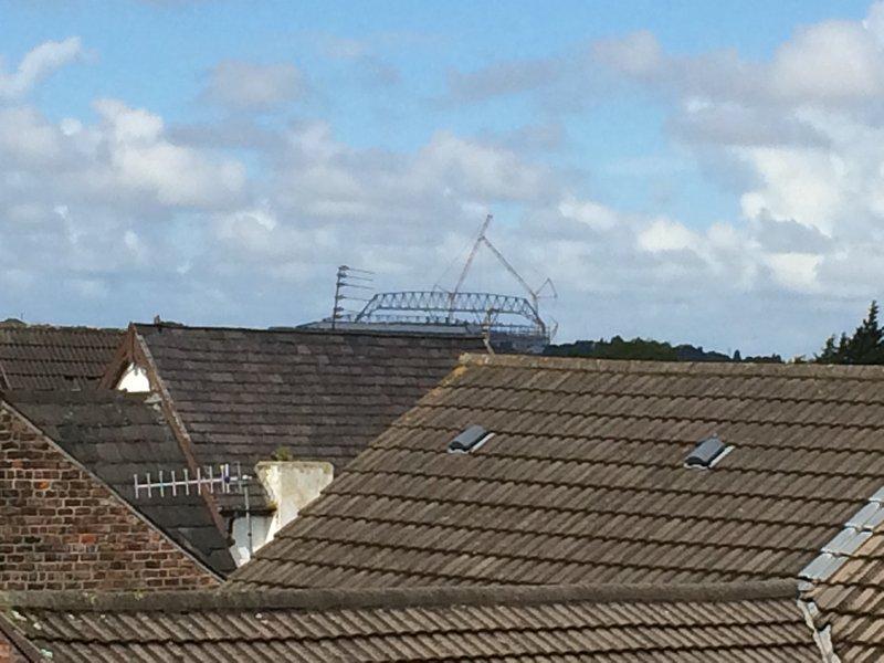 View of Liverpool Football club. (15 - 20 min walk)