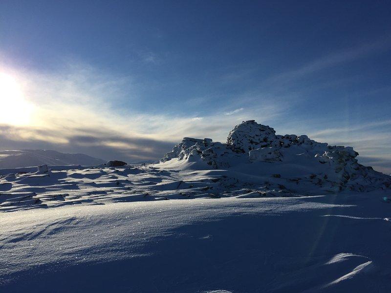 Le sommet du Meall un «Bhuachaille dans les Cairngorms (Photo droit à l'image de Kate Reid)