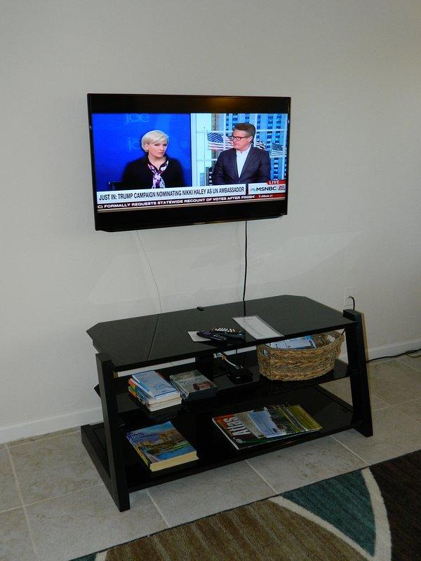 TV de 43 pulgadas en la sala principal