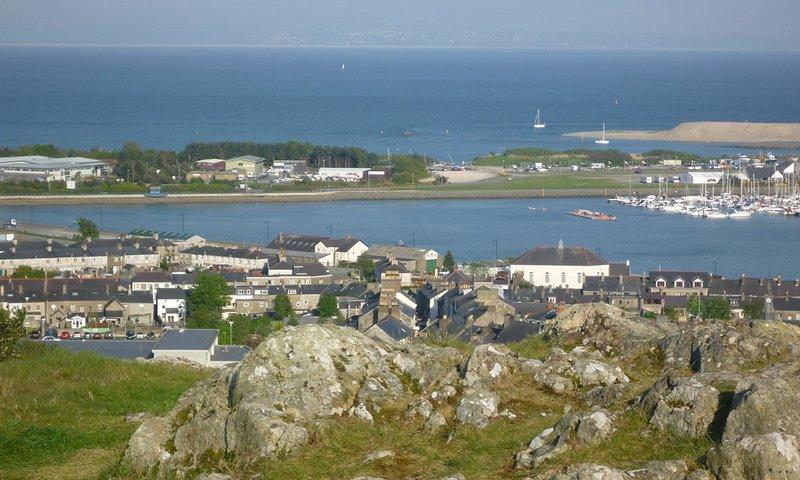 Utsikten från Pwllheli Trig punkt