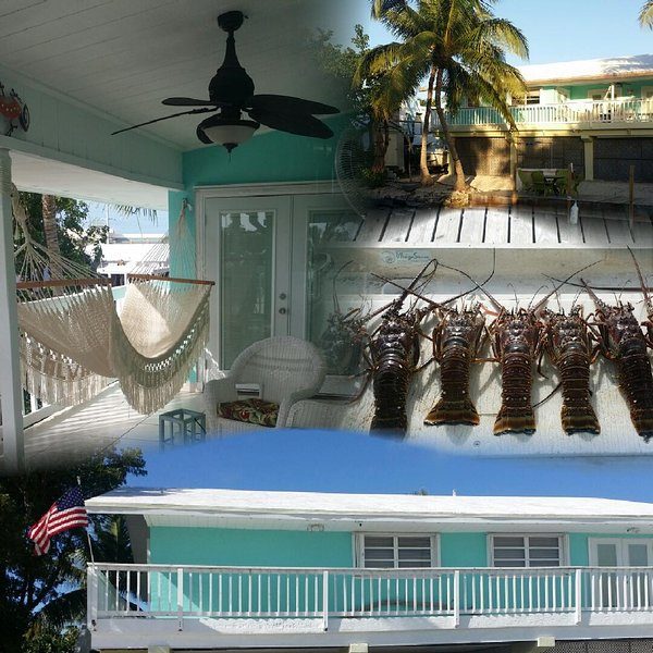 Ocean Side View on Canal, Great for Fishing, Near Sombrero Beach & Restaurants, vacation rental in Marathon Shores