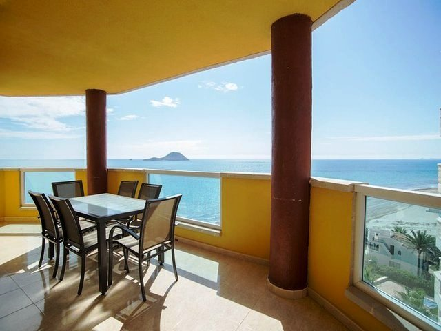 Large balcony with stunning sea views Where can enjoy lazy breakfast while watching the sun come up