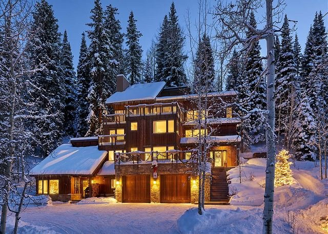 Snowmass Ski In And Ski Out Homes For Rent Over Christmas 2020 For 14 Beautiful 6BR ski in ski out access house on Snowmass mountain