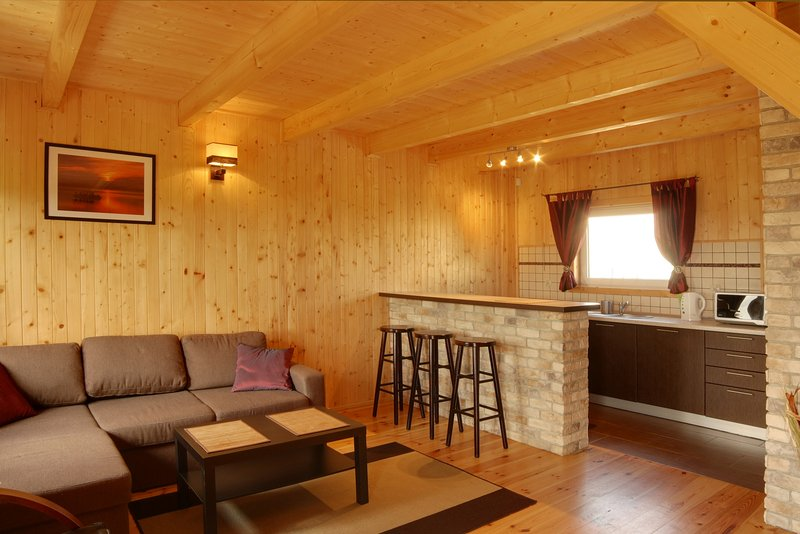 Comfortable cottage house at Baltic Sea, location de vacances à Pomerania Province