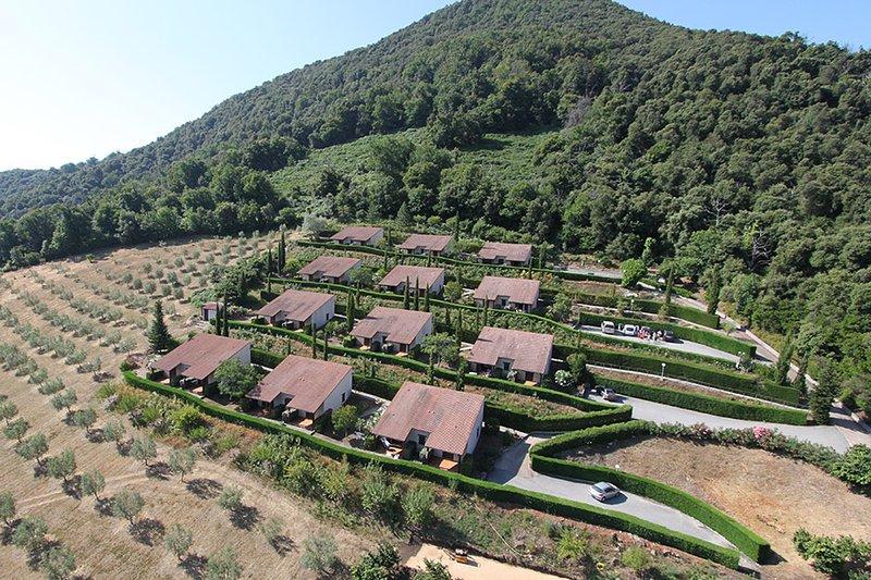 Locations de Mini-Villas à Vico ( Corse du Sud), alquiler de vacaciones en Evisa