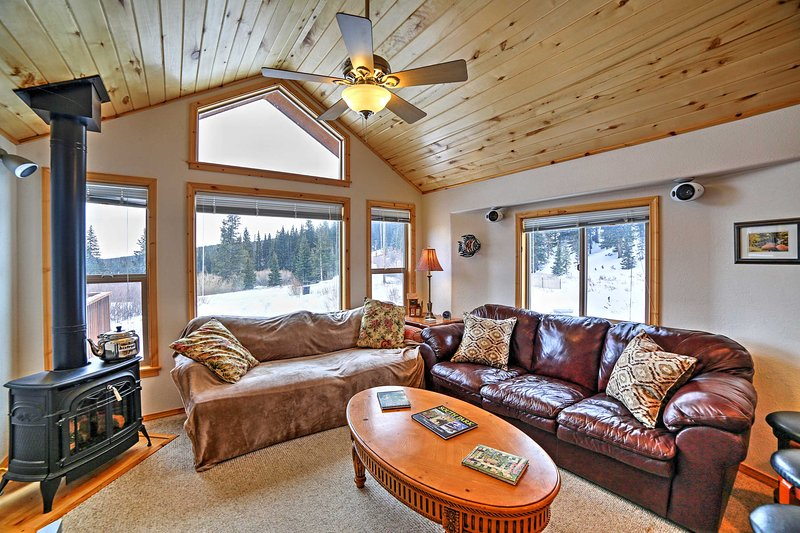 Inside, you'll find all of the comforts needed in a true home-away-from-home!
