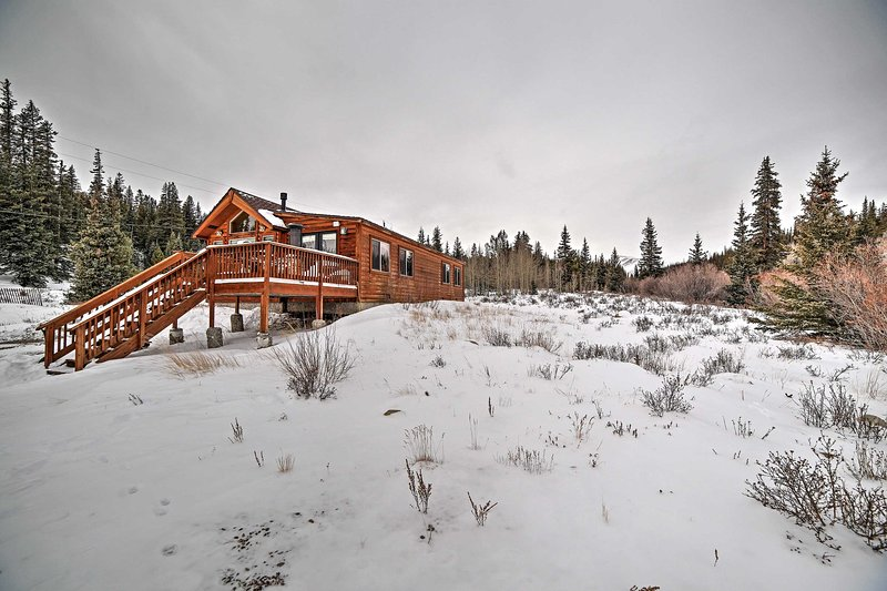 You'll never want to leave this mountain paradise!