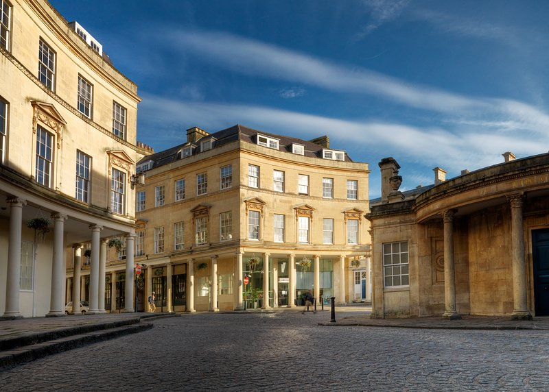 Bath Thermae Spa just seconds from your apartment door