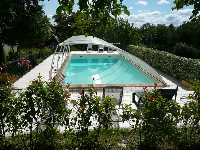 Amazing house with pool access, alquiler vacacional en Peyzac-le-Moustier