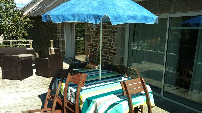 Nice apartment with garden & Wifi, location de vacances à Champeaux