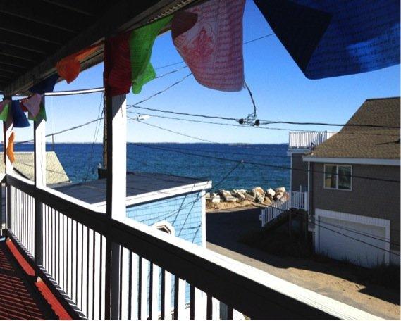 Ocean Views from Upper Deck