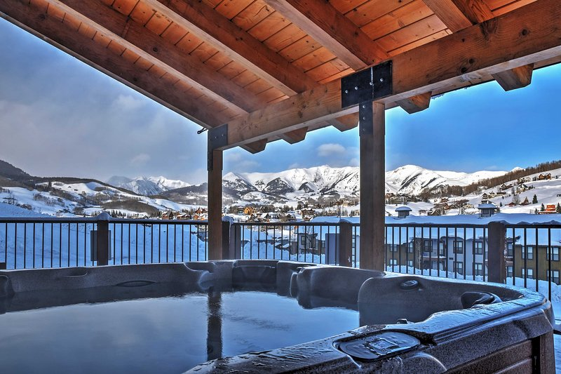 Elevate your Rocky Mountain experience by staying at 'Eagle's Nest.'