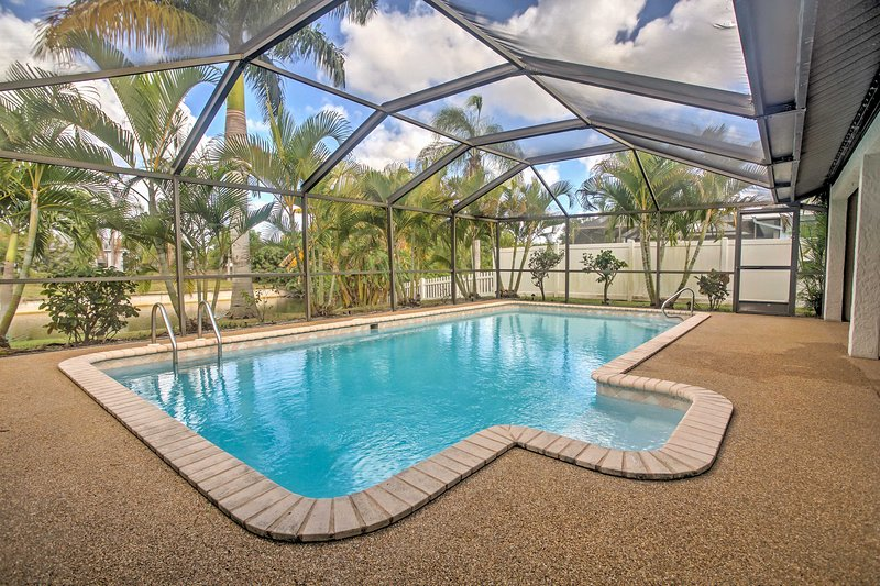 Featuring a private, covered pool, this home promises a rejuvenating Florida retreat!