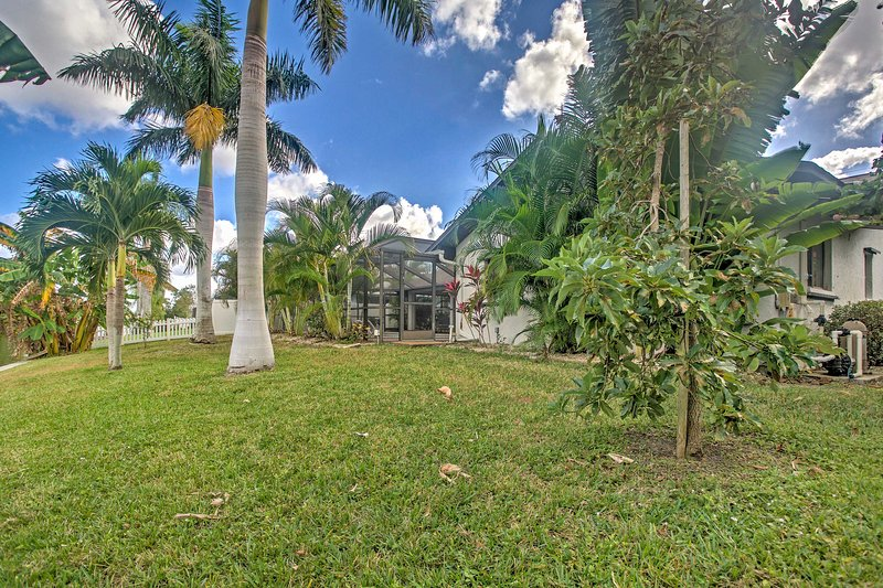 Book this fabulous Cape Coral vacation rental house for the ultimate getaway!
