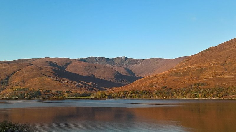 Stunning views of Glean Chreagan in Fort William, holiday rental in Ballachulish