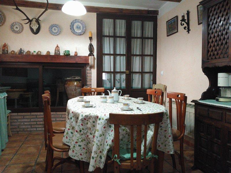 Casa rural El Infante, alquiler de vacaciones en El Provencio