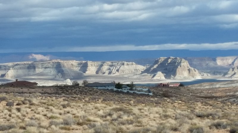 Captivating vew of Lake Powell from the house.