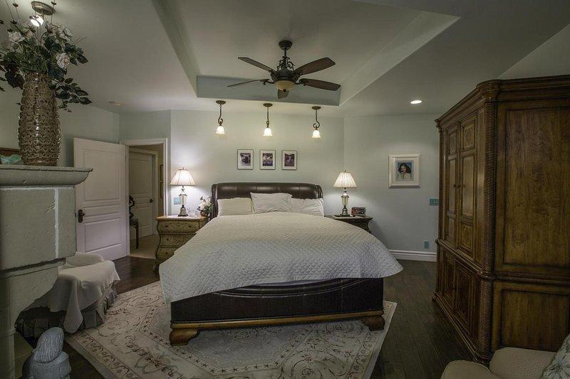 Master bedroom retreat.