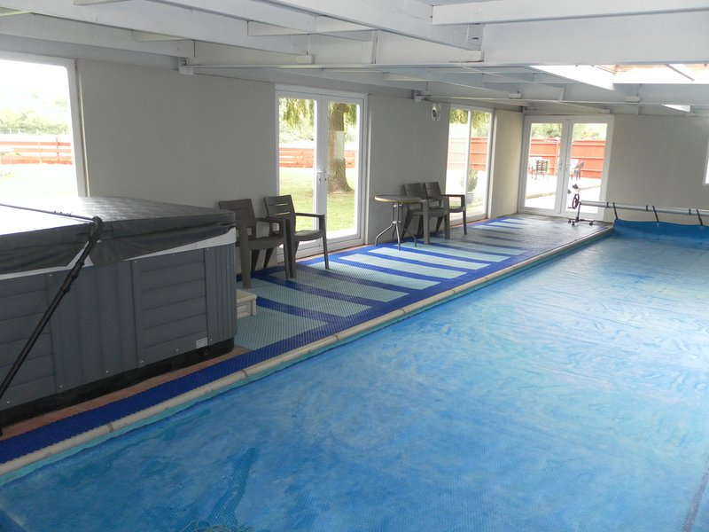 New look pool area.
