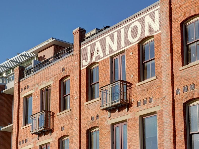 Exterior shot of the Janion