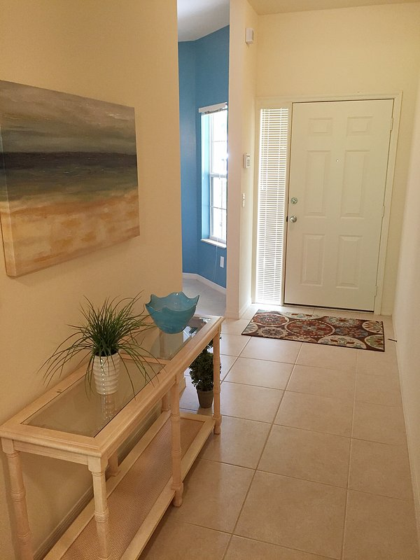 Entrance way to our bright, clean and comfortable condo.