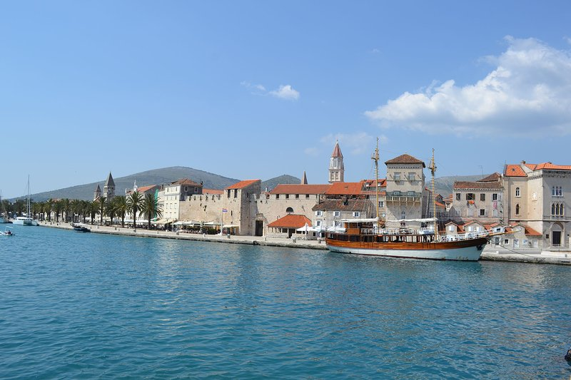Trogir is historical town located 25 kilometers from Sevid