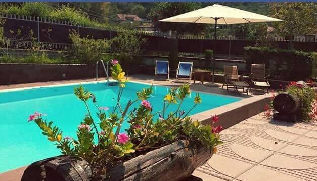 Agropoli : appartamento in villa con piscina, location de vacances à Agropoli