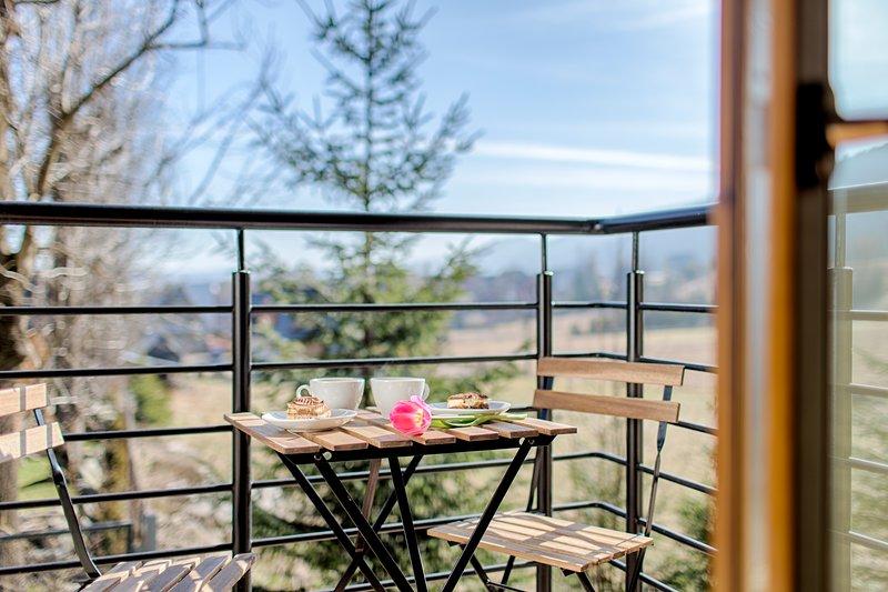 Luxury Apartment for 4 in Zakopane, holiday rental in Zakopane