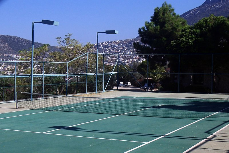 Tenni, Volleyball and Basketball courts