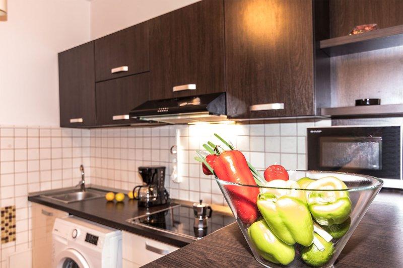 Cuisine équipée open-space