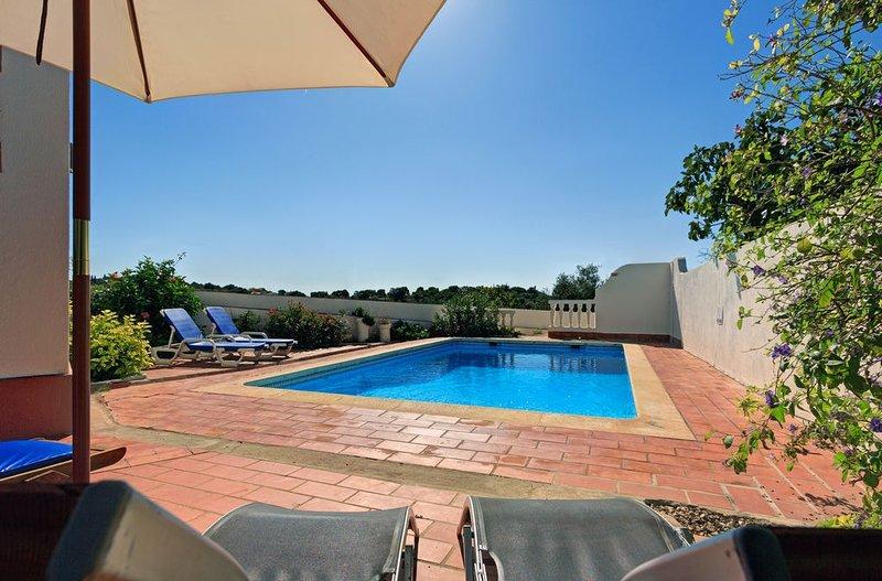The Pool & sun terrace.