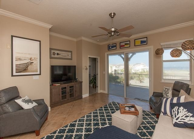 Amazing 4th floor Signature Ocean and Golf View corner Unit 145 !!, holiday rental in Palm Coast