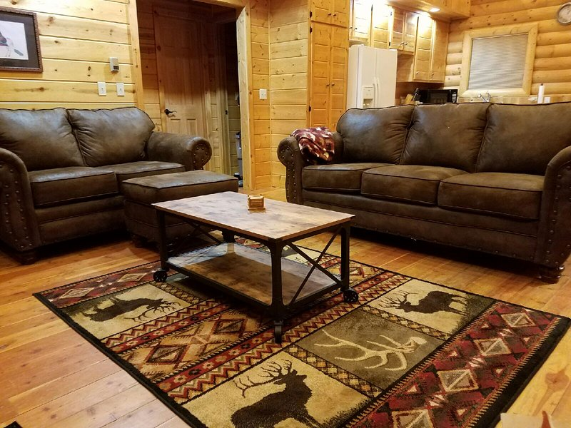 Elk Cabin has 3 BR 3 BA*Views of Mt Wheeler*WiFi, vacation rental in Angel Fire