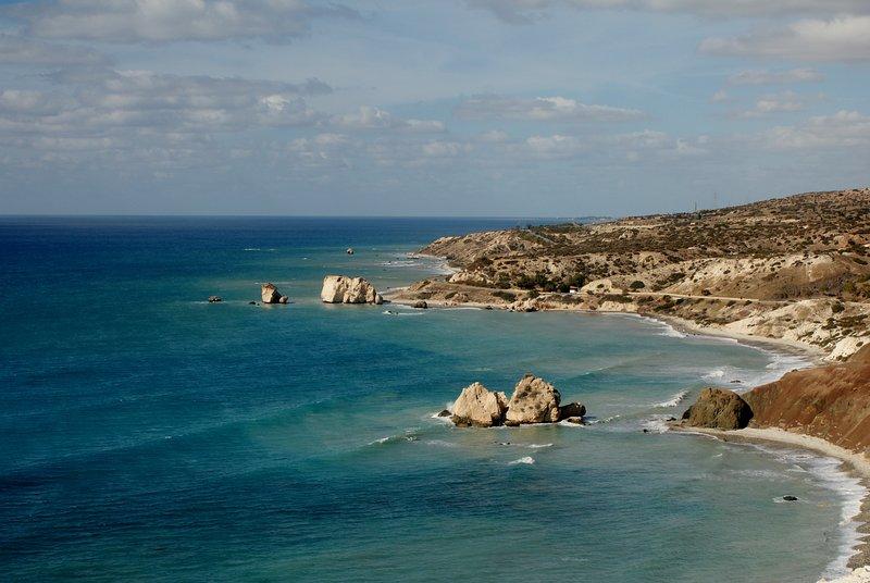 Aphrodite's Rock & Beach
