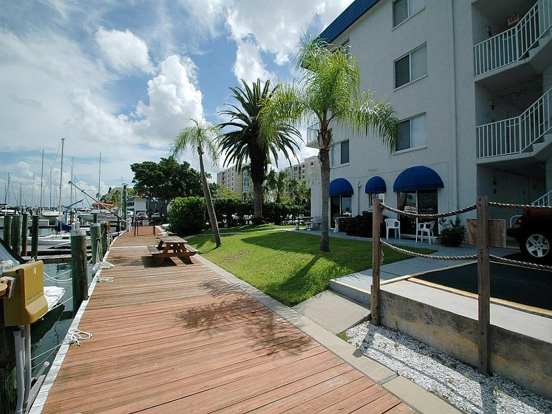 Stroll out onto the docks for a relaxing morning or evening walk.