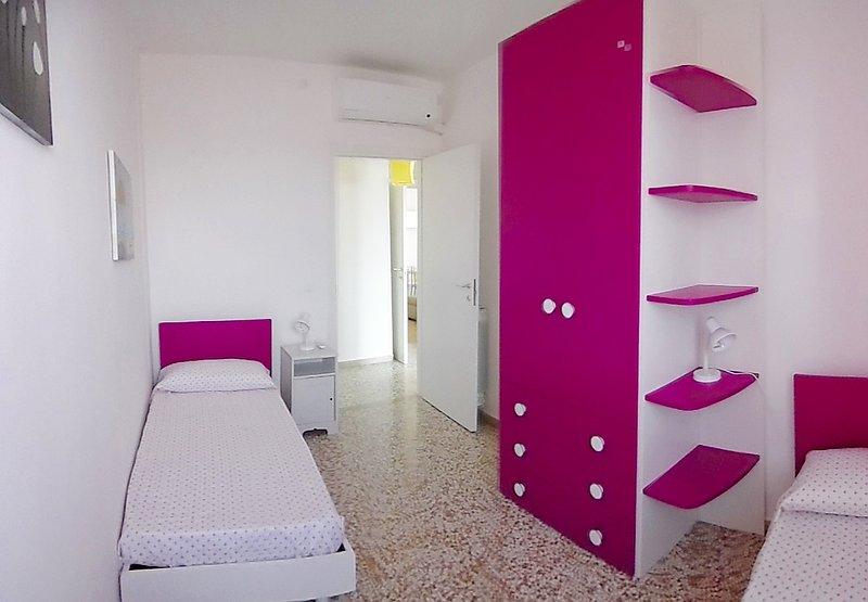 2 quartos com ar condicionado