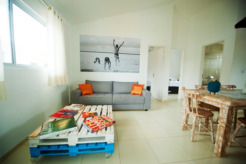 Manga Verde Beach 11: Pool and Ocean View, holiday rental in Paulista