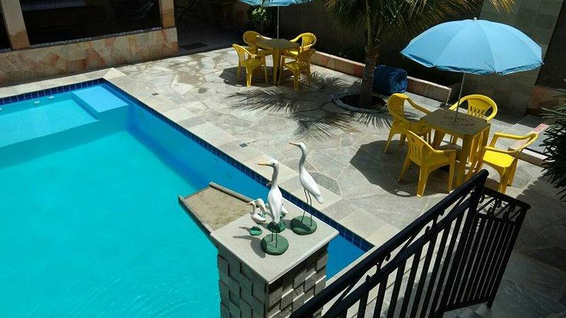 piscine chauffée!