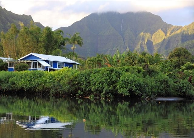 IN Hanalei and on the river!  Its epic!
