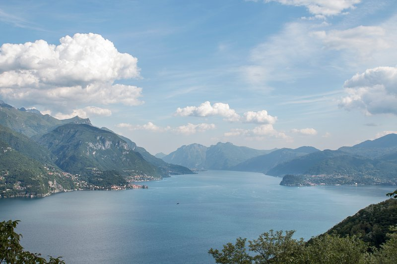 View of Como Lake from Casa San Martino.