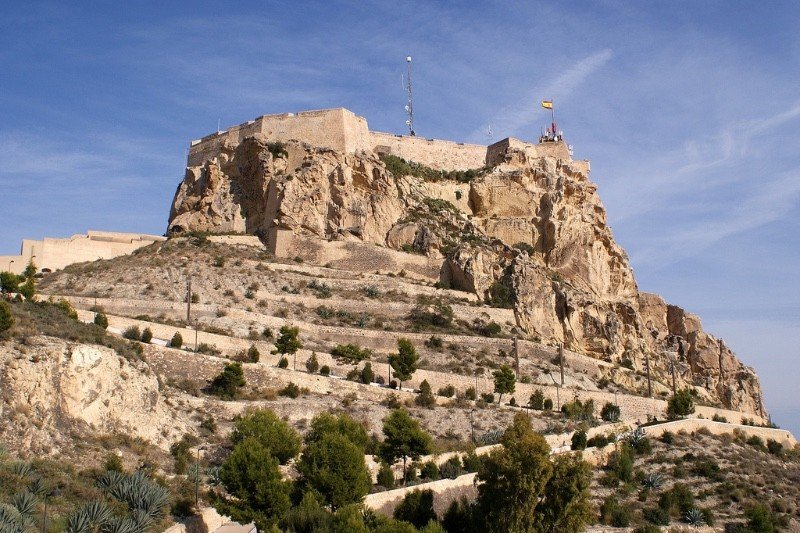 Santa Barbara Castle in Alicante to visit