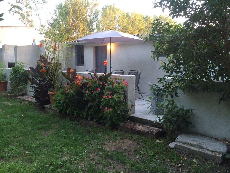 Gites de Bravone 2 Pièces terrasse, holiday rental in Bravone
